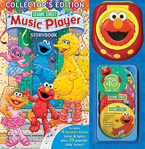 9780794419134: Sesame Street Music Player Storybook [With Music Player & 4 CDs]