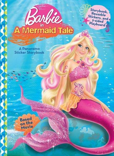 9780794419349: Barbie in A Mermaid Tale (Panorama Sticker Storybook)