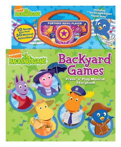 The Backyardigans Backyard Games (9780794419493) by Reader's Digest