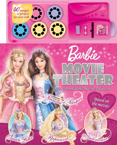 9780794419745: Barbie Movie Theater Storybook & Movie Projector