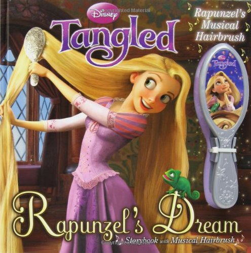Disney Tangled: Rapunzel's Dream Storybook with Musical Hairbrush (9780794420246) by Disney Storybook Artists; Disney Princess