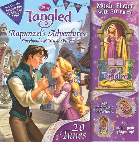 Disney Tangled: Rapunzel's Adventure Storybook with Music Player (9780794420291) by Disney Storybook Artists; Disney Princess; STUDIO IBOIX