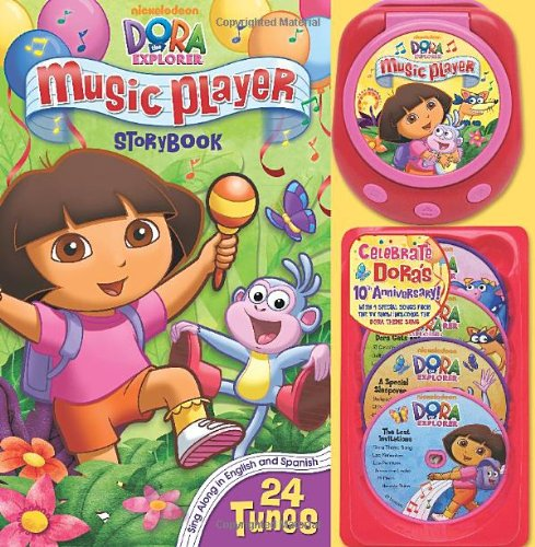 9780794420338: Dora the Explorer Music Player Storybook