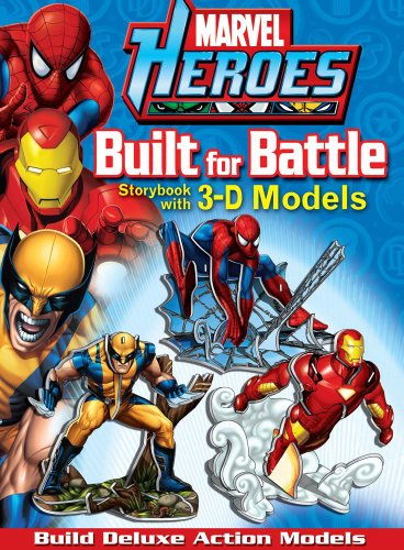 Marvel Heroes Built for Battle (Press-out Play): Marvel; Teitelbaum, Michael