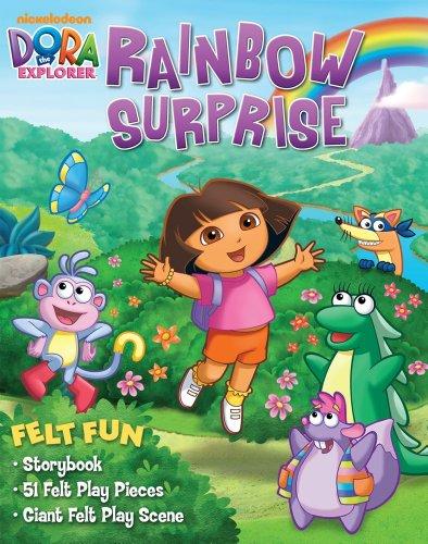 9780794421748: Dora the Explorer Rainbow Surprise: Felt Fun Storybook (Nickelodeon Dora the Explorer)