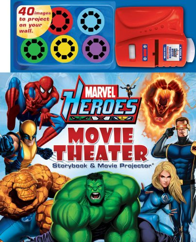Marvel Heroes Movie Theater Storybook and Movie Projector (0794422527) by Readers digest