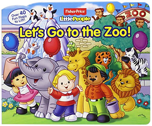 9780794422769: Fisher-Price Little People Let's Go to the Zoo!