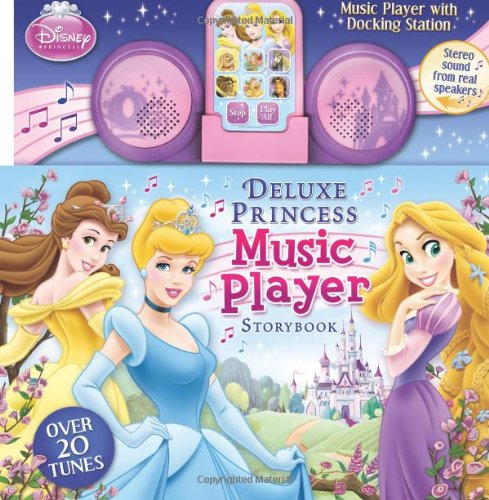 Disney Princess Deluxe Music Player: Storybook with Docking Station (9780794422837) by Disney Princess