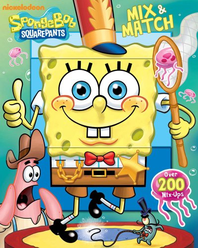 Spongebob Squarepants Mix & Match: Nickelodeon SpongeBob SquarePants; Roe, David