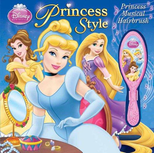 9780794423674: Disney Princess Style Storybook and Musical Hairbrush