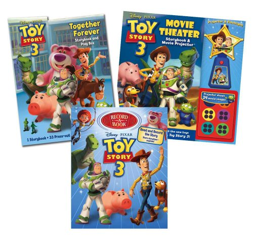 Disney Pixar Toy Story 3 Holiday Gift Set (9780794424411) by Reader's Digest