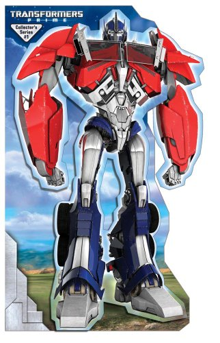 Transformers Prime Optimus Prime Stand Up Mover: Stand-up Mover (9780794424732) by Hasbro Transformers; Michael Teitelbaum