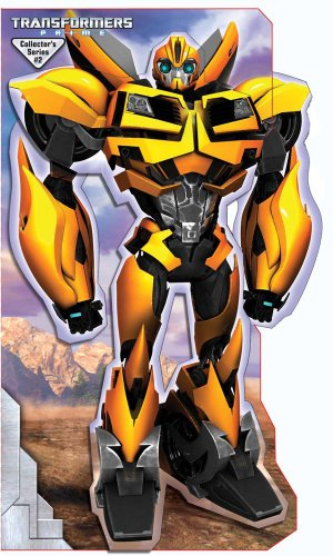 9780794424749: Transformers Prime Bumblebee Stand Up Mover