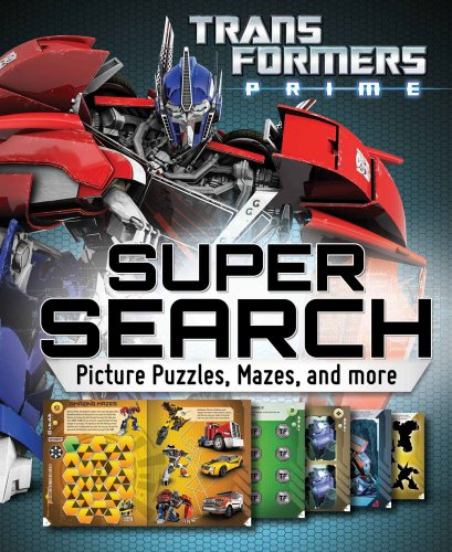 9780794425753: Transformers Super Search: Picture Puzzles, Mazes and More