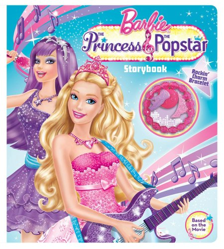 9780794425807: The Barbie™ The Princess & The Popstar Storybook (BOOK AND JEWELRY)