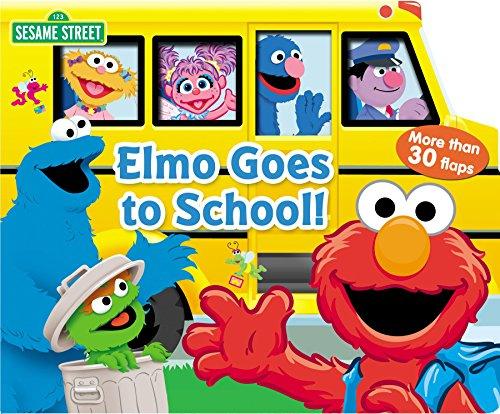 9780794425852: Sesame Street Elmo Goes to School