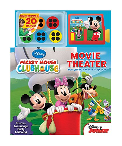 9780794425876: Disney Mickey Mouse Clubhouse Movie Theater: Storybook and Movie Projector