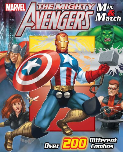 Marvel The Avengers Mix & Match (Mix: Marvel; Roe, David