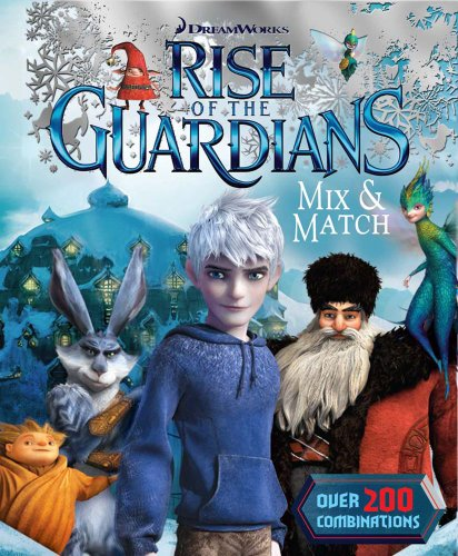 9780794426033: Dreamworks Rise of the Guardians Mix and Match (Mix & Match)