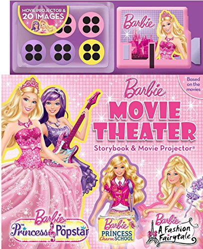 9780794427023: Barbie Movie Theater Storybook with Movie Projector