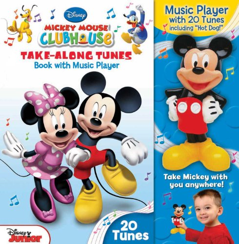 9780794427351: Disney Mickey Mouse Clubhouse Take-Along Tunes: Book with Music Player