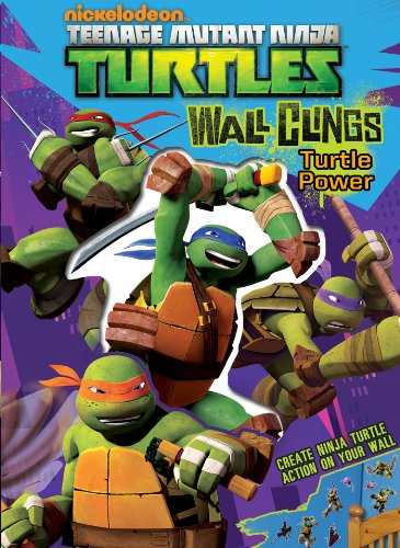 Teenage Mutant Ninja Turtles Wall Clings (0794427979) by Nickelodeon Teenage Mutant Ninja Turtles; Michael Teitelbaum