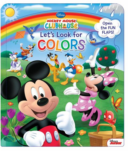 9780794427993: Disney Mickey Mouse Clubhouse Let's Look for Colors