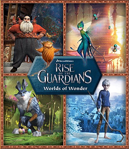 9780794428037: Rise of the Guardians Worlds of Wonder