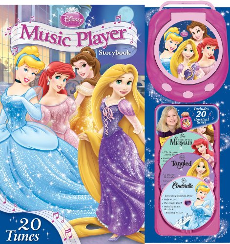 9780794428044: Disney Princess Music Player Storybook