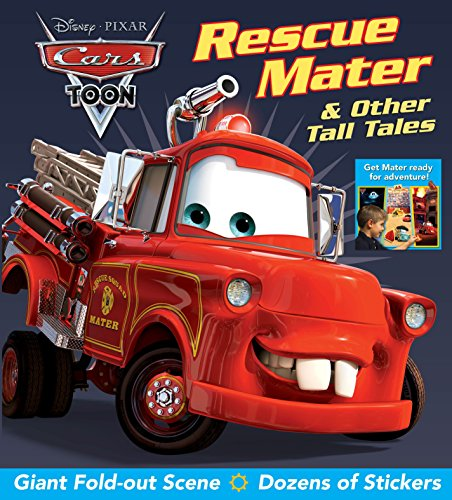 9780794428150: Disney Pixar CARS TOON Rescue Mater & Other Tall Tales (Fold-Out Figure)