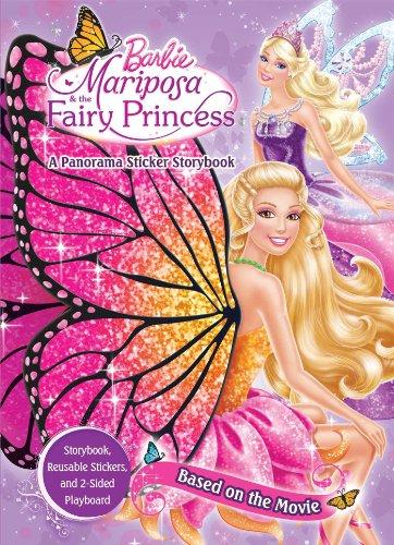 Barbie Mariposa & the Fairy Princess: A Panorama Sticker Storybook