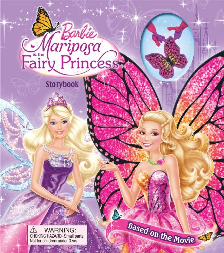 Barbie Mariposa & the Fairy Princess Storybook: Storybook and Necklace