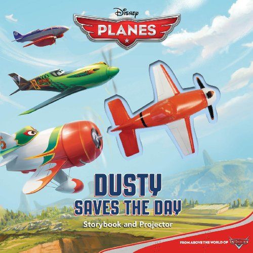9780794428914: Disney Planes Dusty Saves the Day!: Storybook & Projector (Movie Theater)