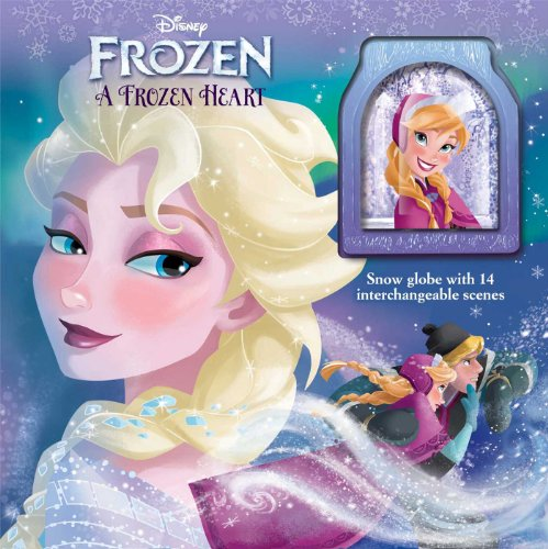 9780794428921: Disney Frozen a Frozen Heart: Storybook with Snowglobe