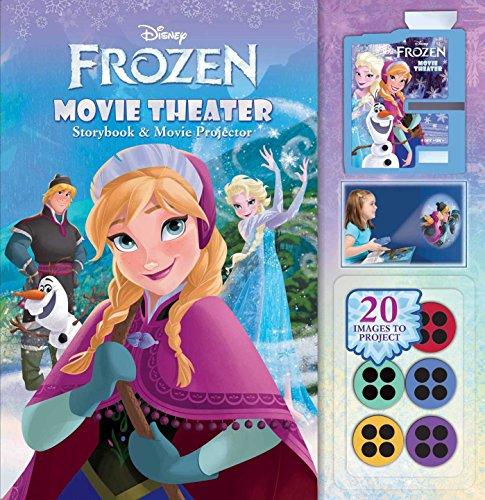 9780794428952: Disney Frozen Movie Theater Storybook & Movie Projector