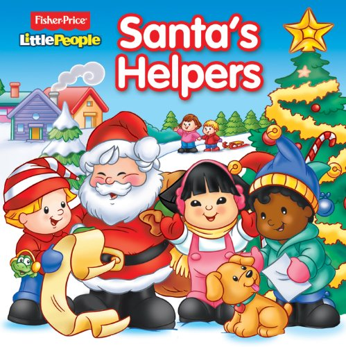 Fisher-Price Little People Santa's Helpers (8 x: People®, Fisher-Price® Little