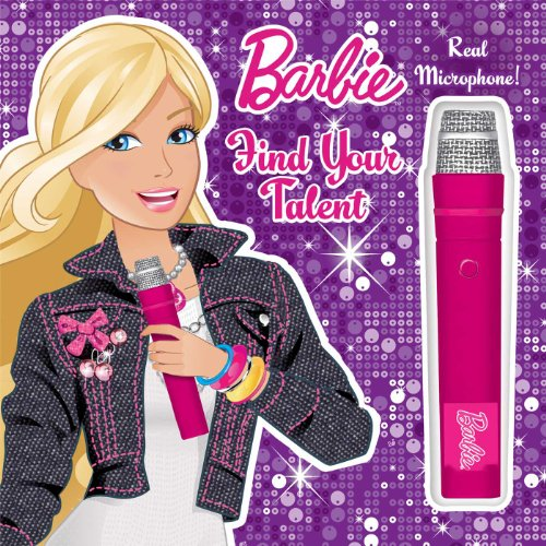 9780794429140: Barbie Find Your Talent: Book with Microphone