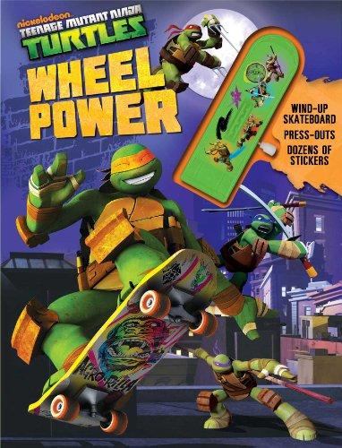 9780794429263: Teenage Mutant Ninja Turtles Wheel Power (Wind-up Toy)