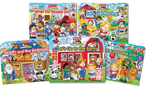 9780794429799: Fisher-Price Little People Lift the Flap Library 2