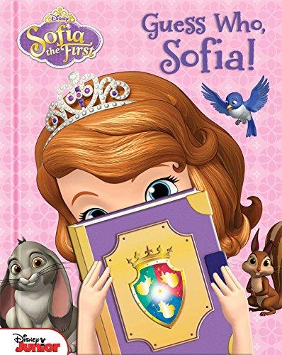 9780794430740: Disney Sofia the First: Guess Who, Sofia!