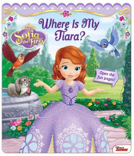 9780794431099: Disney Sofia the First: Where Is My Tiara? (Open Door Book)