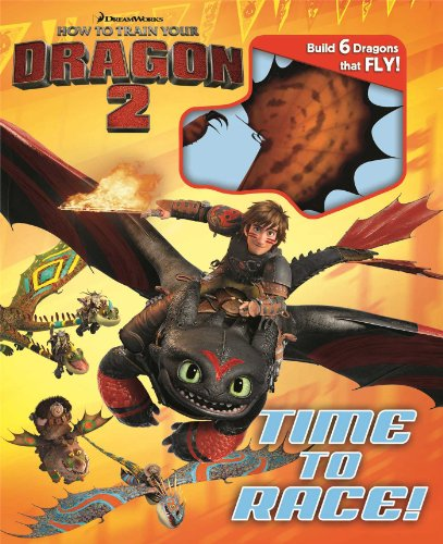9780794431112: Dreamworks How to Train Your Dragon 2: Time to Race! (Build It)