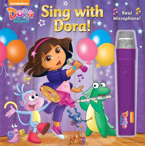 9780794431181: Dora the Explorer: Sing with Dora! (Book with Microphone)