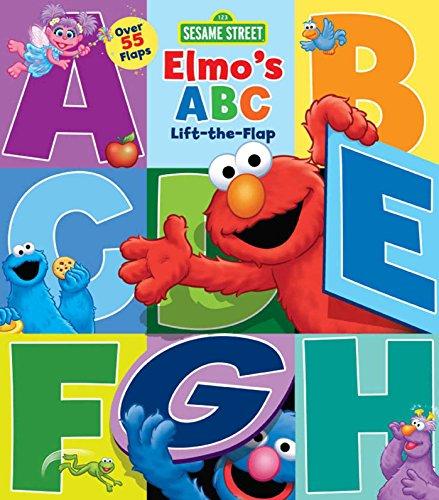 9780794431228: Sesame Street: Elmo's ABC Lift-the-Flap