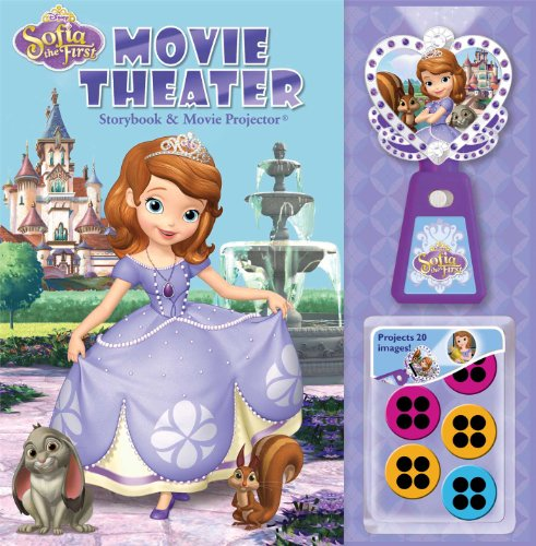 9780794431389: Disney Sofia the First Movie Theater Storybook & Movie Projector