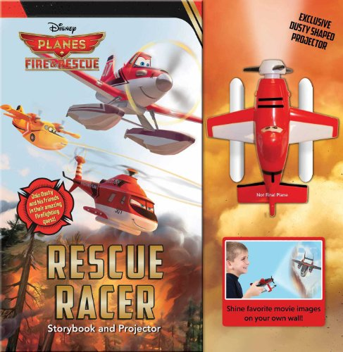 9780794431402: Disney Planes Fire & Rescue: Rescue Racer: Storybook with Movie Projector (Movie Theater)