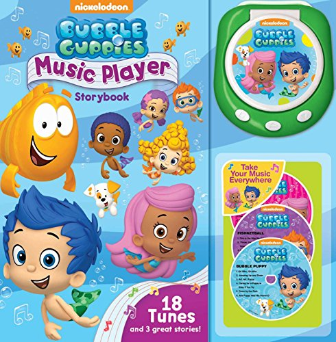 9780794431976: Bubble Guppies Music Player Storybook [With Music Player and 3 CDs]