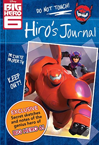 9780794432058: Disney Big Hero 6 Hiro's Journal