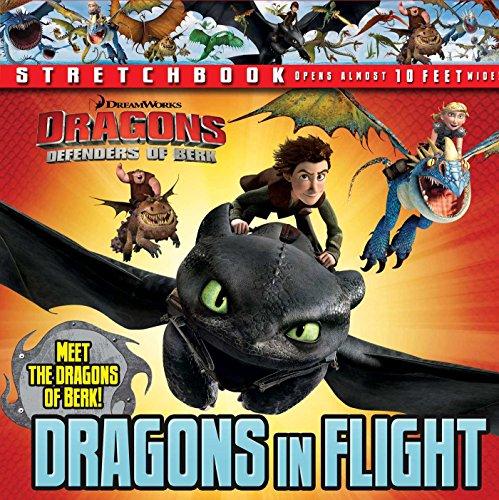 9780794432133: DreamWorks: Defenders of Berk: Dragons in Flight Stretchbook (Dragons: Defenders of Berk: Stretchbook)