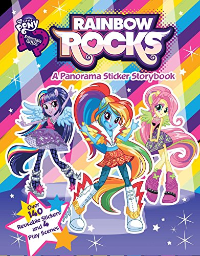 9780794433239: My Little Pony Equestria Girls: Rainbow Rocks (Panorama Sticker Storybook)